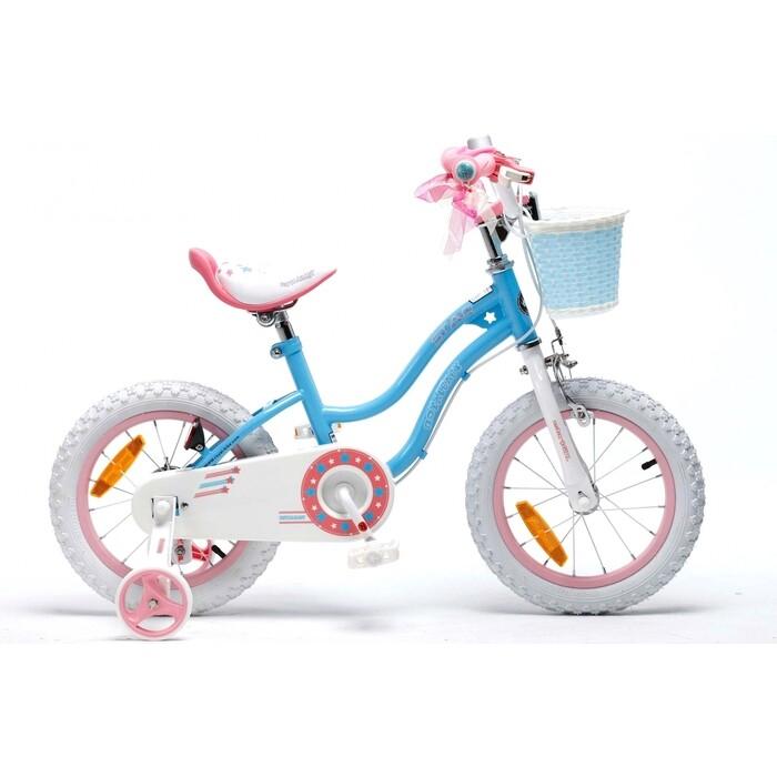 Велосипед Royal Baby STAR GIRL 12 Синий