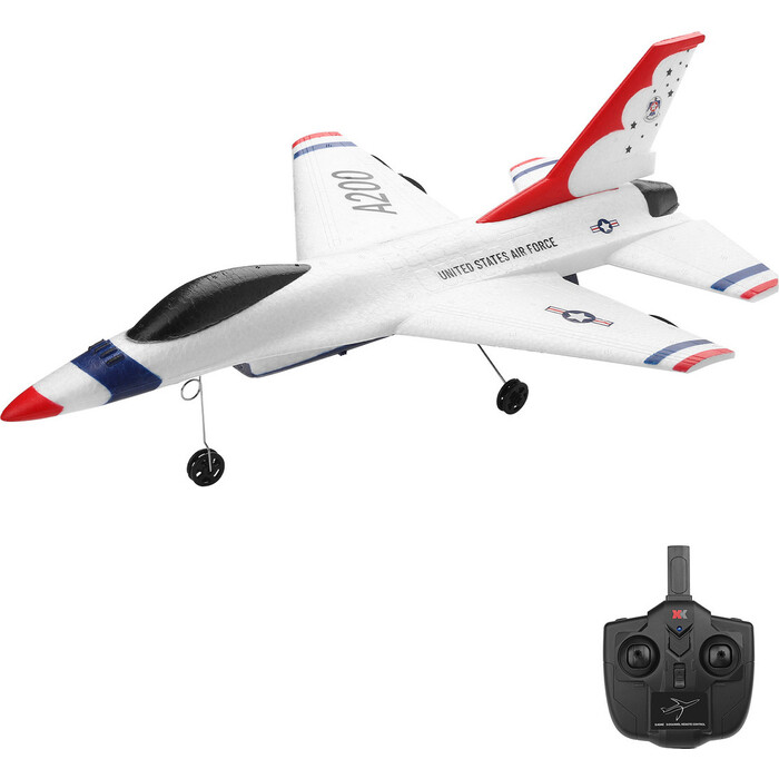 Радиоуправляемый самолет XK Innovation F-16B RTF 2.4G - XK-A200 радиоуправляемый самолет xk innovation x520 w rtf 2 4g x520 w