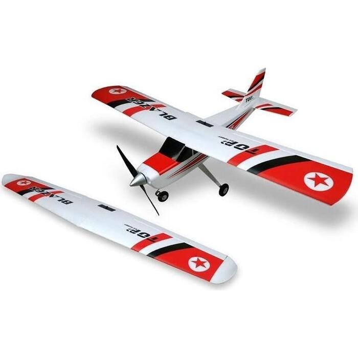 Радиоуправляемый самолет Top RC Blazer 1280мм-1200мм (2 крыла) RTF 2.4G - top019C