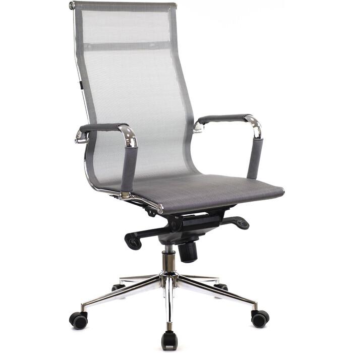 Кресло руководителя Everprof Opera M сетка серый