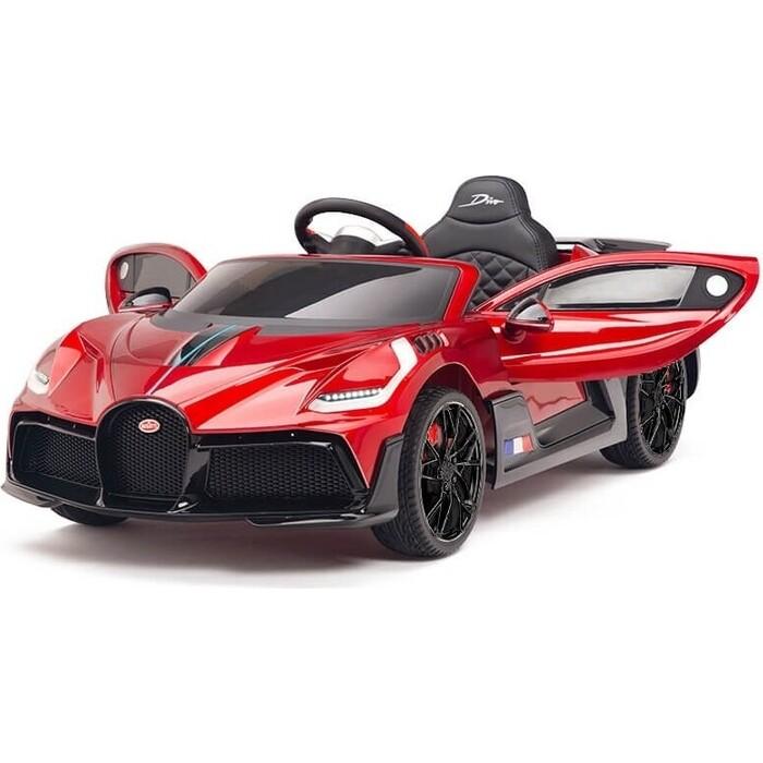 il divo brasília Детский электромобиль Harleybella Bugatti Divo 12V - RED - HL338