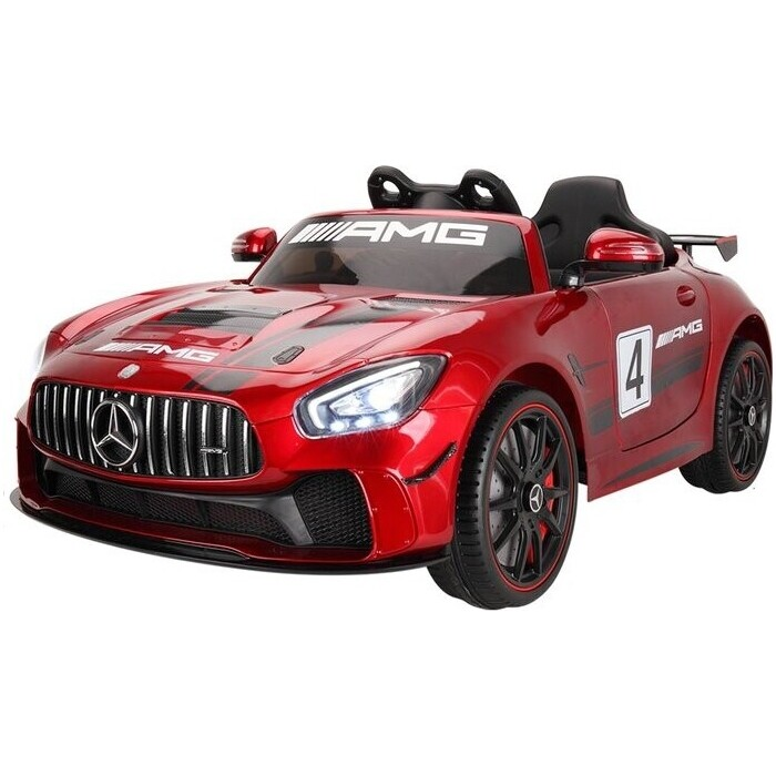 Детский электромобиль Hollicy Mercedes GT4 AMG Carbon Red 12V - SX1918S-RED-PAINT