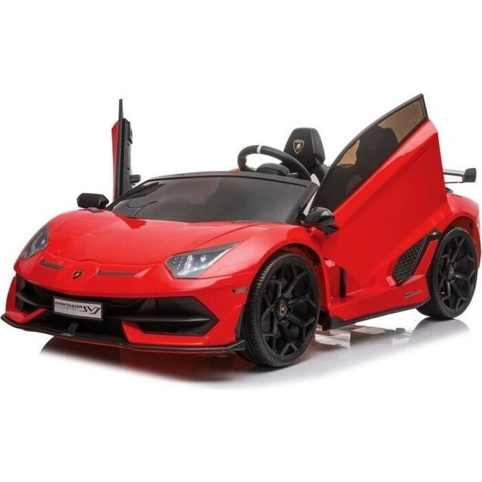 Детский электромобиль Hollicy Lamborghini Aventador SVJ Red Carbon (дрифт, 15 км/ч, 24V) - SX2028S-RED