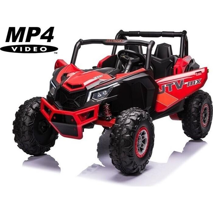 шильдик 4wd Детский электромобиль XMX Багги (красный, MP4, EVA, 4WD, 24V) - XMX613-4WD-24V-RED-MP4