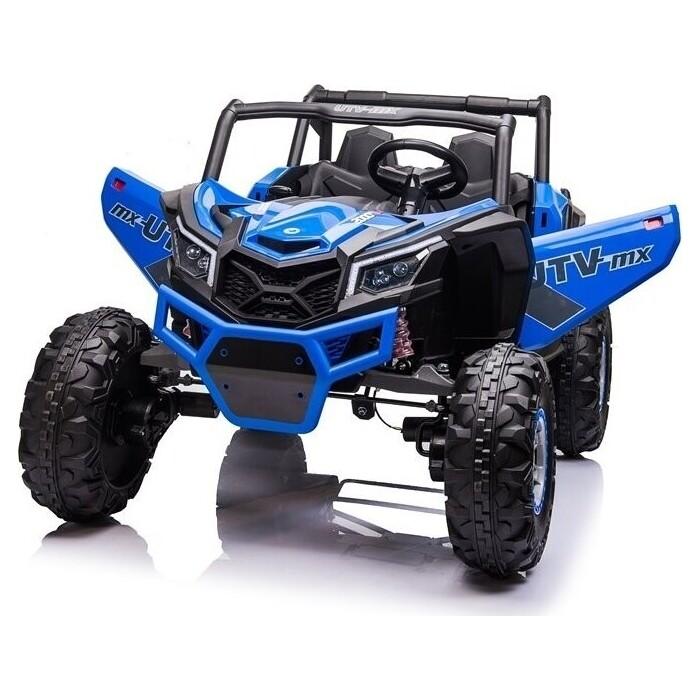 шильдик 4wd Детский электромобиль XMX Багги (синий, EVA, 4WD, 24V) - XMX613-4WD-24V-BLUE