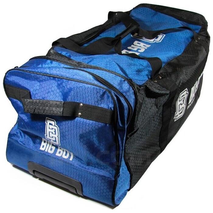 Сумка-баул спортивная BIG BOY Elite Line 32 арт. БУ-00000035, полиэстер, черно-сине-белый