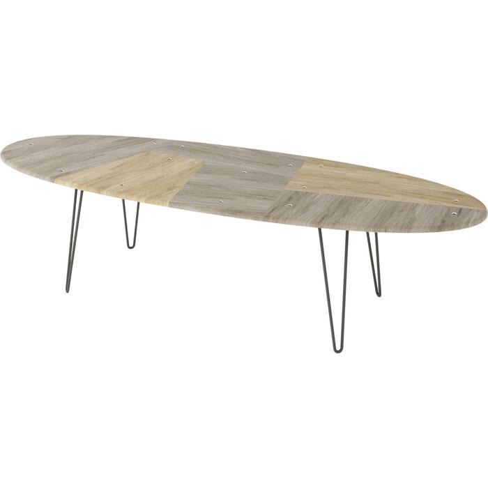Стол журнальный Калифорния мебель Бот дуб трюфель/дуб сонома