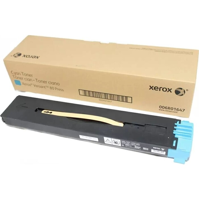 Тонер Xerox голубой Versant 80, 22K (006R01647)
