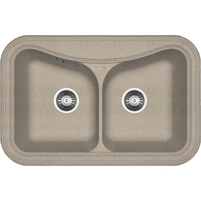Кухонная мойка Florentina Крит 780А песочный Fg (20.175.E0780.107)