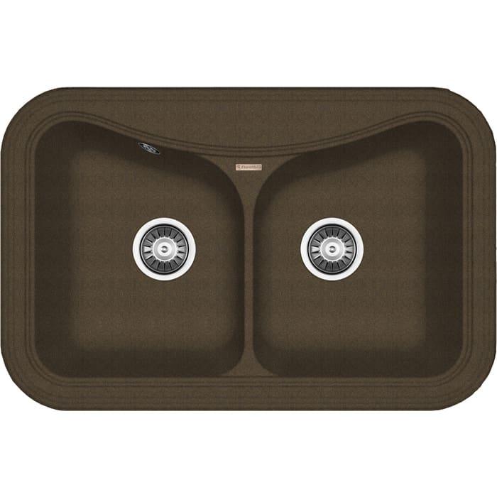 Кухонная мойка Florentina Крит 780А коричневый Fg (20.175.E0780.105)