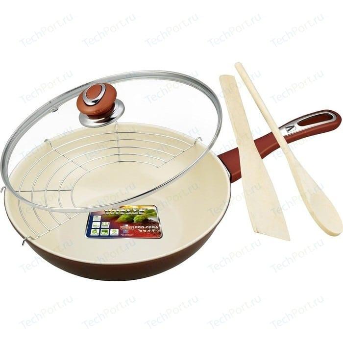 Сковорода WOK Vitesse d 28см (4 л) VS-7656