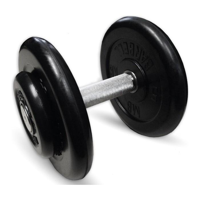 Фото - Гантель MB Barbell профессиональная Профи черная 13.5 кг гантель профи 53 5 кг mb barbell
