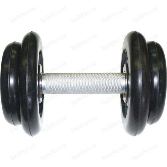 Фото - Гантель профессиональная MB Barbell Профи черная 8.5 кг гантель профи 53 5 кг mb barbell