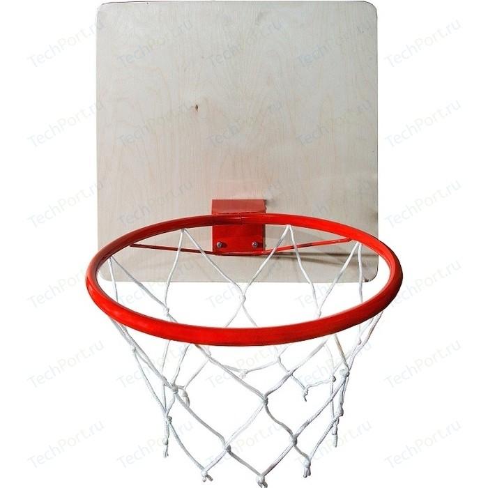Кольцо баскетбольное КМС со щитом d-295 мм