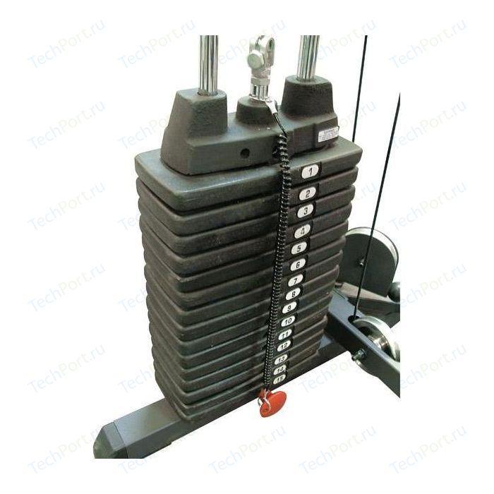 Весовой стек Body Solid SP150 для PHG1000 (15 шт.*10фнт./4.53 кг.)