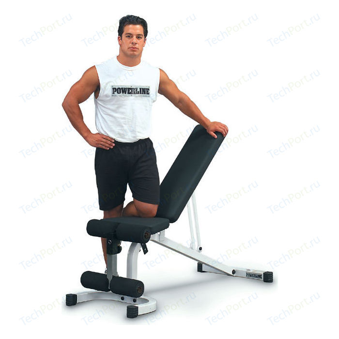 Скамья тренировочная Body Solid регулируемая Powerline PFID130