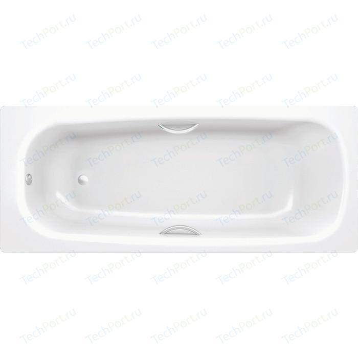 Фото - Ванна стальная BLB Universal HG 170х70 с ножками, ручками и шумоизоляцией (B70HTH001, APMSTDBL1, A00ACRFR1) ванна стальная blb europa 170х70 с ножками b70e22001 apmstdbl1