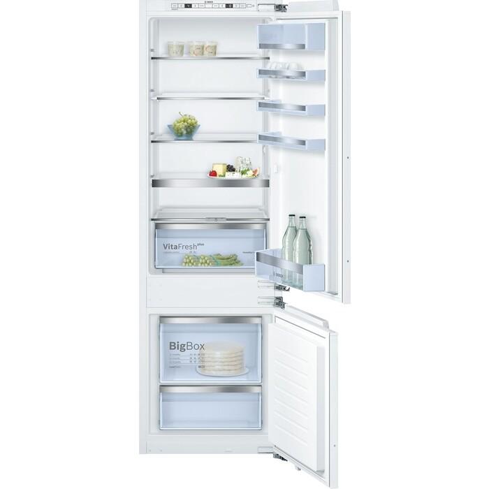 Фото - Встраиваемый холодильник Bosch Serie 6 KIS87AF30 встраиваемый двухкамерный холодильник bosch kis 86 af 20 r