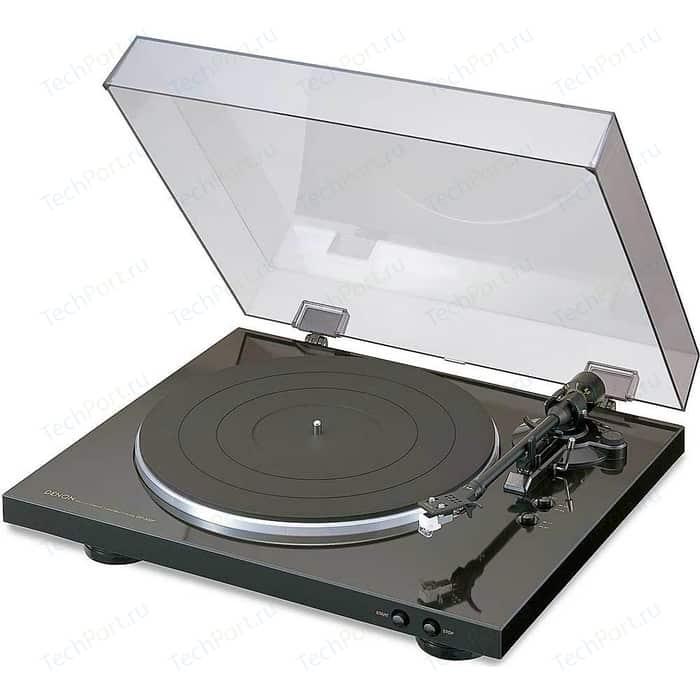 Фото - Виниловый проигрыватель Denon DP-300F black cd проигрыватель denon dn 700c