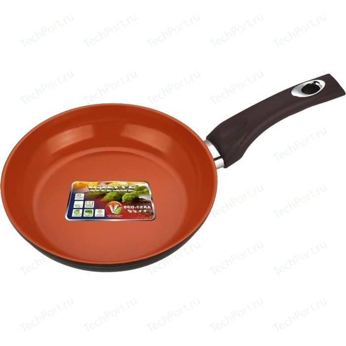 Сковорода Vitesse Cherry d 20 см VS-2278 сковорода d 24 см kukmara кофейный мрамор смки240а