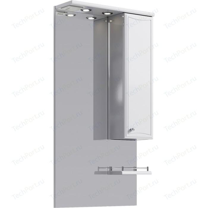 Зеркало-шкаф Aqwella Barcelona 55x108 белый (Ba.02.55)