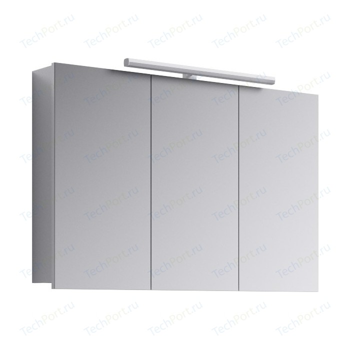 Зеркальный шкаф Aqwella 5 Stars Broadway 100x65 белый (Brw.04.10)