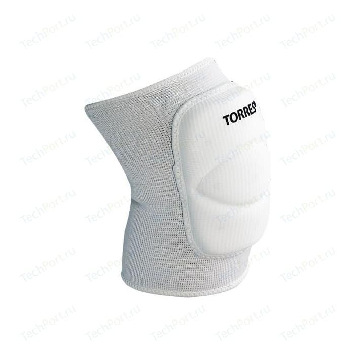 Наколенники спортивные Torres Classic, (арт. PRL11016XL-01), размер XL, цвет: белый