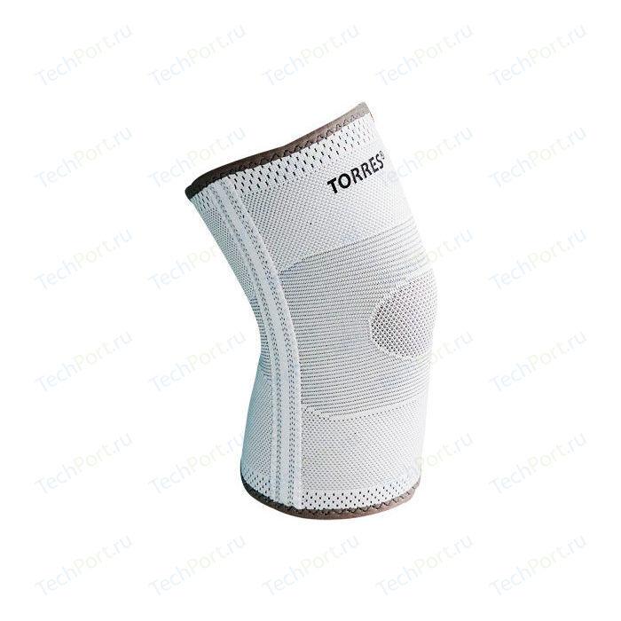Суппорт колена Torres (арт. PRL11010S), размер S, цвет: серый