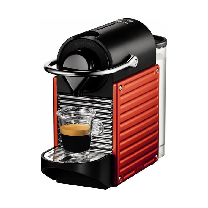 Капсульная кофемашина Krups Pixie Red XN 300610