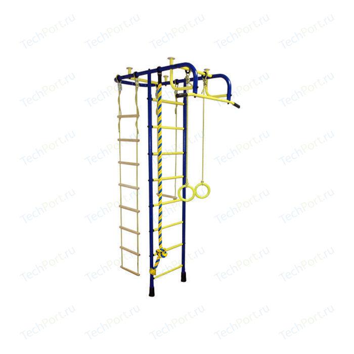 Детский спортивный комплекс Пионер А сине/жёлтый