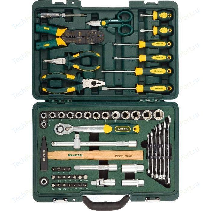 Набор инструментов Kraftool 59шт Industry (27977-H59) набор инструментов kraftool 70 предметов industry 27977 h70