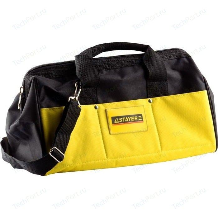 Сумка для инструментов Stayer 20 карманов 40см нейлоновая Master (38550) сумка для инструмента stayer master 38550