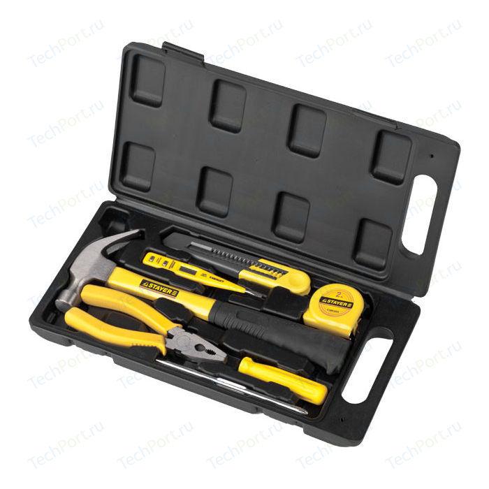 Набор инструментов Stayer 7шт Техник Standard (22051-H7) набор для рихтовочных работ 7шт force 50713 page 9