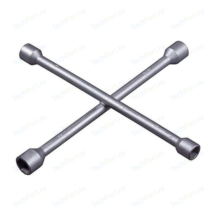 Ключ баллонный Kraftool автомобильный удлиненный 19-22-24-27мм (27572)