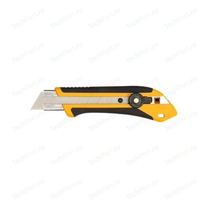 Нож с выдвижным лезвием Olfa 25мм трещоточный фиксатор (OL-XH-1)