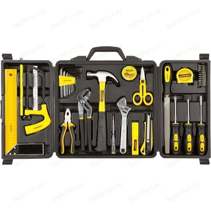 Набор инструментов Stayer 36 предметов Standard Умелец (22055-H36) нож stayer standard с сегментированным лезвием 18мм 0913