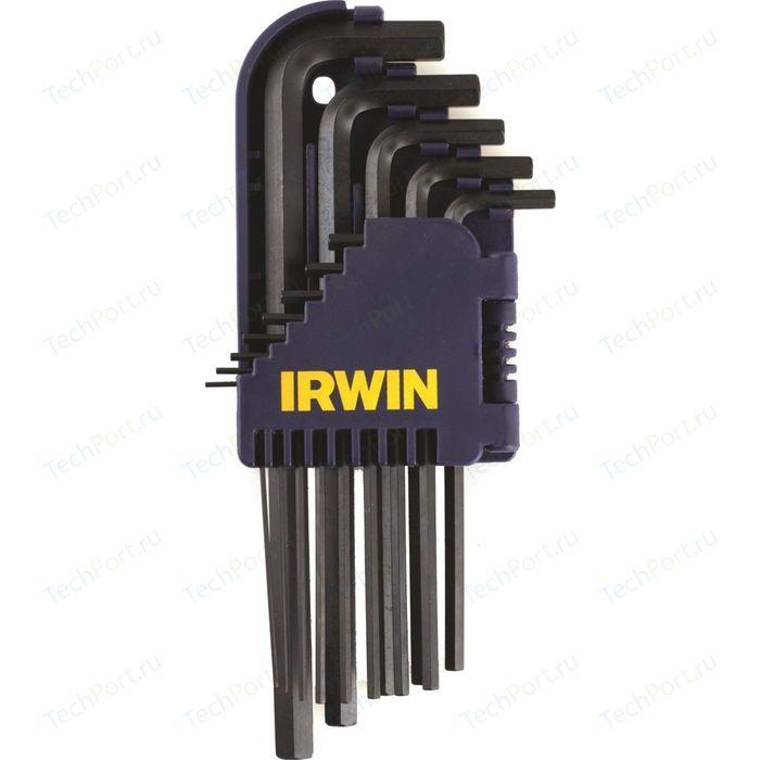 Набор длинных шестигранных ключей Irwin 1.5-10.0мм (T10756)