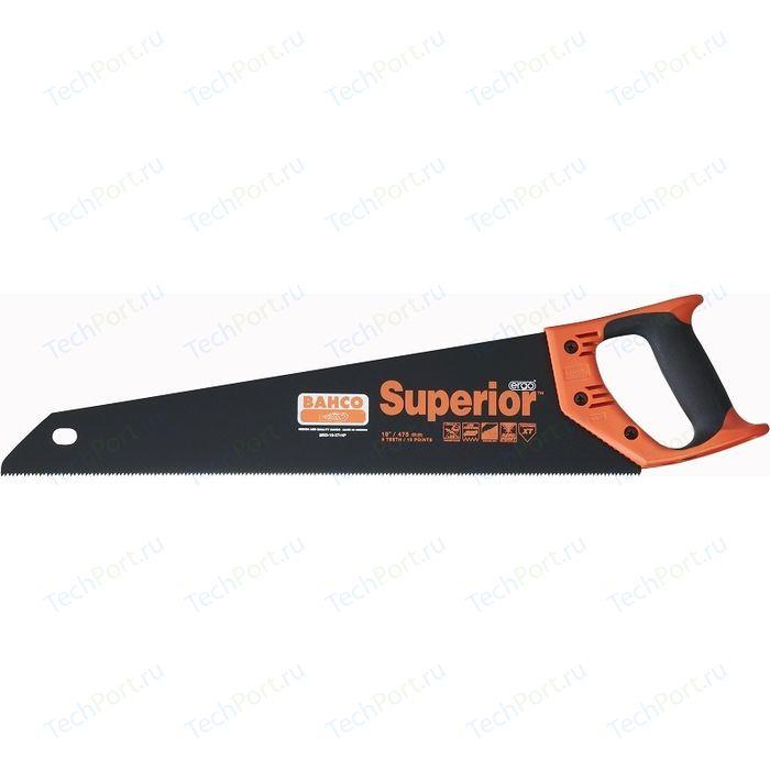 Ножовка Bahco 475мм с покрытием (2600-19-XT-HP)