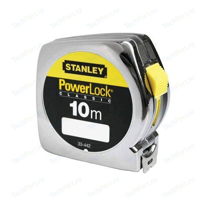 Рулетка Stanley 10м х25мм Powerlock (0-33-442)