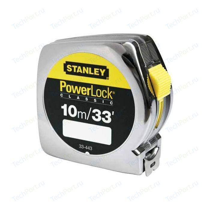 Рулетка Stanley Powerlock комби 10м x25мм (0-33-443)