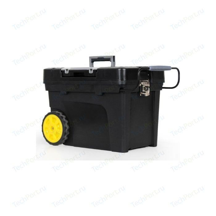 Ящик для инструментов Stanley с колесами (1-97-503) ящик stanley 1 97 514 со съемным органайзером 24 67x32 3x25 1см