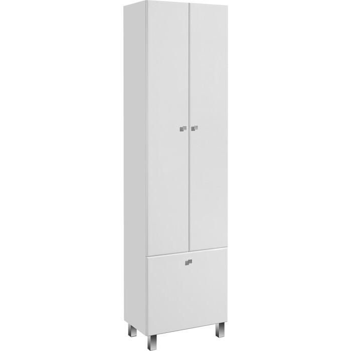 Шкаф двустворчатый Акватон Симпл с бельевой корзиной (1A137403SL010)