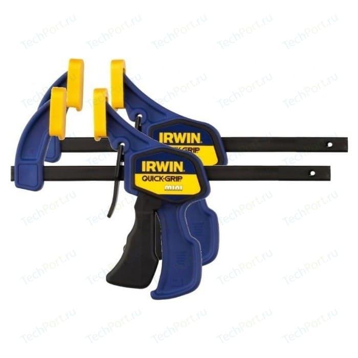 Струбцины Irwin до 300мм (2шт) mini (T54122EL7)