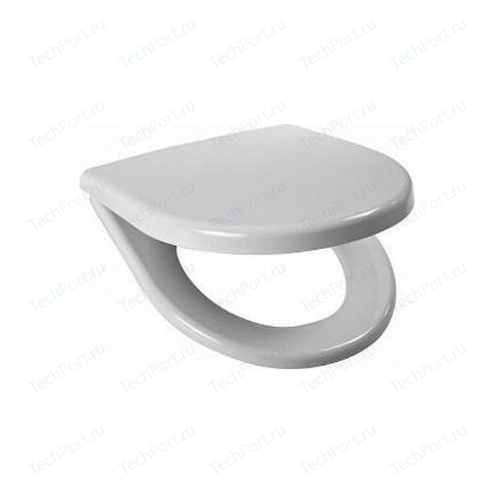 Сиденье для унитаза Jika Lyra plus с металлическими петлями, хром (8.9338.4.300.063)