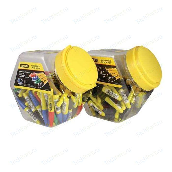 Маркеры Stanley разных цветов 72шт Mini (1-47-329)