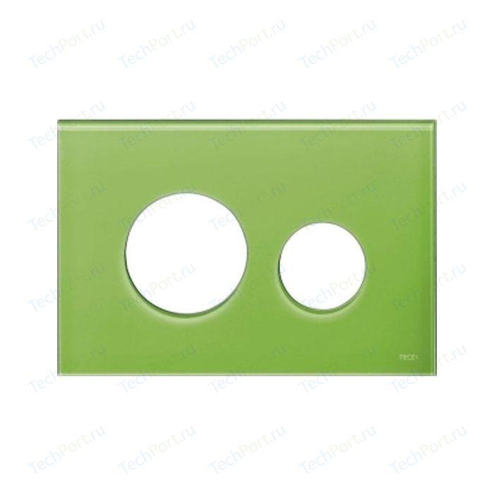 Панель смыва TECE Loop Modular без клавиш, стекло, зелёный (9240685)