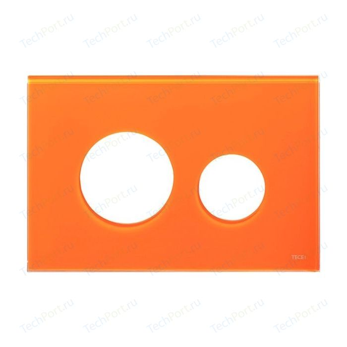 Лицевая панель TECE loop Modular без клавиш стекло, оранжевый (9240673)