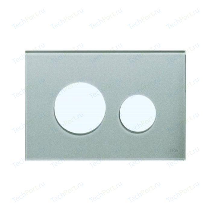 Панель смыва TECE Loop Modular без клавиш стекло, серебрянный (9240676)