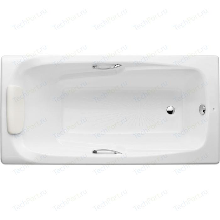 Чугунная ванна Roca Ming 170x85 с отверстиями для ручек (2302G000R)