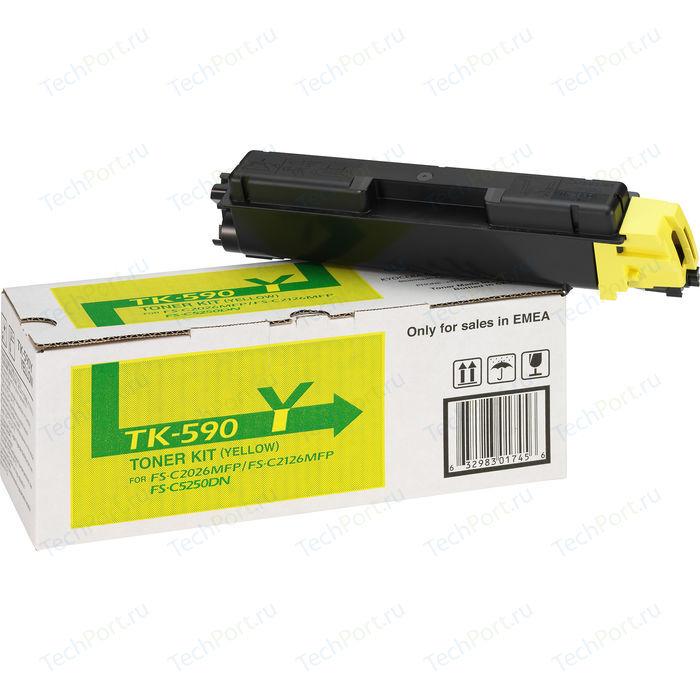 Kартридж Kyocera TK-590Y 5000 стр.
